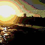 Sunrise Art Print by David Alvarez