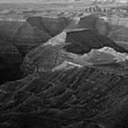Sunrise Goosenecks San Juan River Utah Art Print