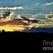 Sunrise Over Sedona Az Art Print