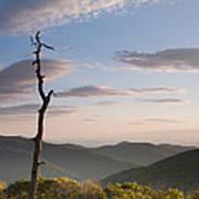 Sunrise Over Shenandoah National Park  Art Print