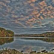 Sunrise Putnam Lake Art Print