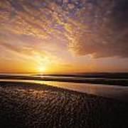 Sunrise, Sandymount Strand Dun Art Print