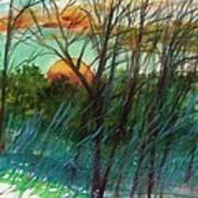 Sun's Edge Art Print