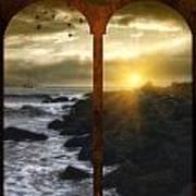 Sunset At The Jersey Shore Art Print