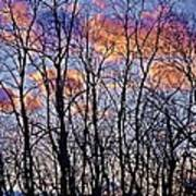 Sunset Cloud Colors 9 Art Print