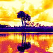 Sunset Colour Art Print