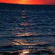 Sunset Denmark Samsoe Island Art Print