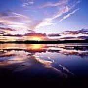 Sunset, Dinish Island Kenmare Bay Art Print