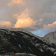 Sunset In Jasper Art Print