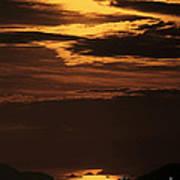 Sunset Ipanema  Art Print