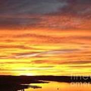 Sunset Lake Travis Art Print