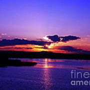 Sunset On Snake River Art Print