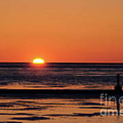 Sunset Park Petoskey Mi Art Print