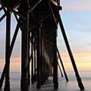 Sunset Pier California 3 Art Print