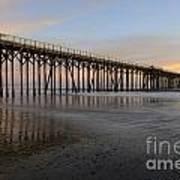 Sunset Pier  California 5 Art Print