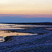 Sunset Salton Sea North Art Print