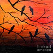 Sunset Secrets Art Print