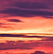 Sunset Skyscape Art Print