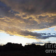 Sunset Valley Of Fire Art Print