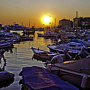 Sunsetting Over Rovinj 2 Art Print
