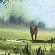 Sunshine Stroll Art Print