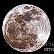 Super Moon 2012 Art Print