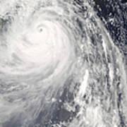 Super Typhoon Wipha Art Print
