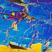 Superconductor Crystal Art Print