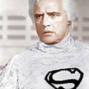 Superman, Marlon Brando, 1978 Art Print