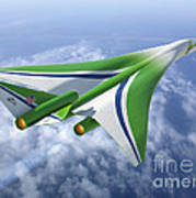 Supersonic Aircraft Design Art Print