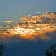 Supreem Sunset I Art Print