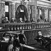 Supreme Court, 1888 Art Print