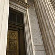 Supreme Court Entrance Art Print