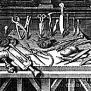Surgical Equipment, 16th Century Art Print