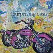 Surprising Oasis Art Print