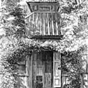 Swedenborgs Cottage Art Print