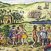 Swedish Colonists, 1702 Art Print