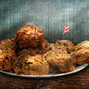 Sweet - Scone - Scones Anyone Art Print by Mike Savad