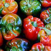 Sweet Peppers Art Print