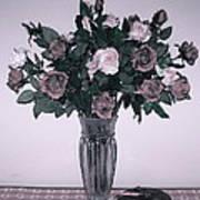 Sweet Valentine Bouquet  Art Print