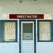 Sweetwater Store Art Print by Jeff Lowe