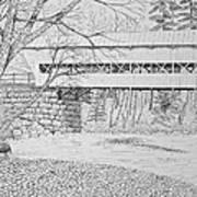 Swift River Bridge Art Print by Tim Murray
