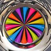 Swirled Color Art Print