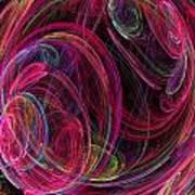 Swirling Energy Art Print