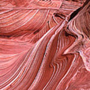 Swirling Sandstone Art Print