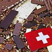 Swiss Chocolate Art Print