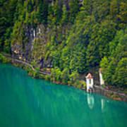 Switzerland - Lake Art Print