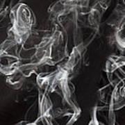 Swriling Smoke  Art Print