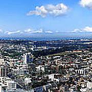 Sydney - Aerial View Panorama Art Print