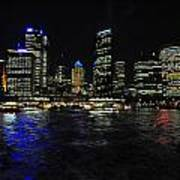 Sydney Harbour Skyline Art Print by Jacques Van Niekerk